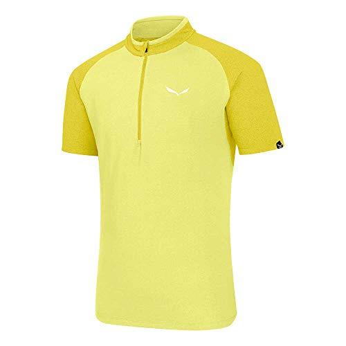 Salewa agner Climb Dry M S/S Hz Tee, T-Shirt pour Homme 52/XL Limelight/5730