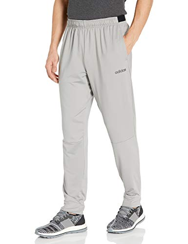 adidas Men's Fast And Confident Pant Medium Gray Heather/Solid Gray Large