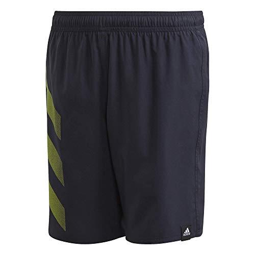 adidas Unisex Kinder YA BD 3S Shorts Schwimm-Slips, Tinley, 140 (9/10 años)