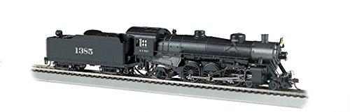 Bachmann Industries Trains Usra Light Pacific 4-6-2 Dcc Sound Value Equipped Santa Fe #1385 Ho Scale Steam Locomotive -  Bachmann Industries Inc., 52803