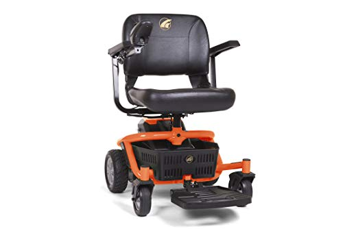 Best Price LiteRider Envy Lightweight Power Wheelchair, Premium High Back Seat, Disassembles for Tra...