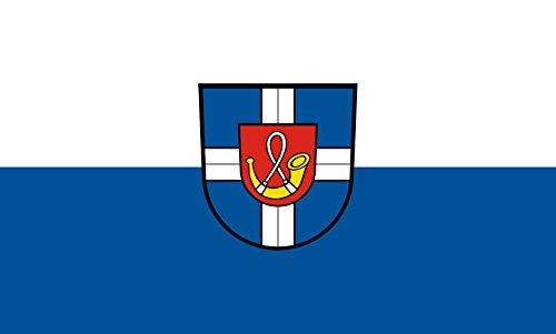 Unbekannt magFlags Tisch-Fahne/Tisch-Flagge: Hambrücken 15x25cm inkl. Tisch-Ständer