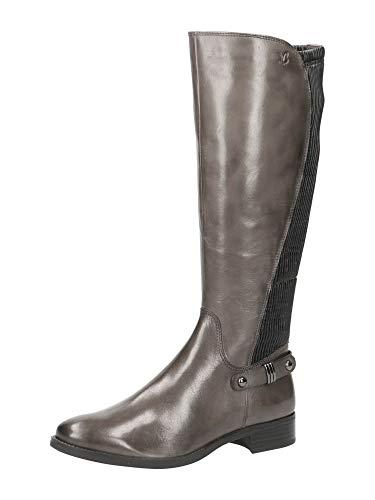 Caprice Belen, Botas Altas Mujer, Gris (DK Grey Comb 203), 38 EU
