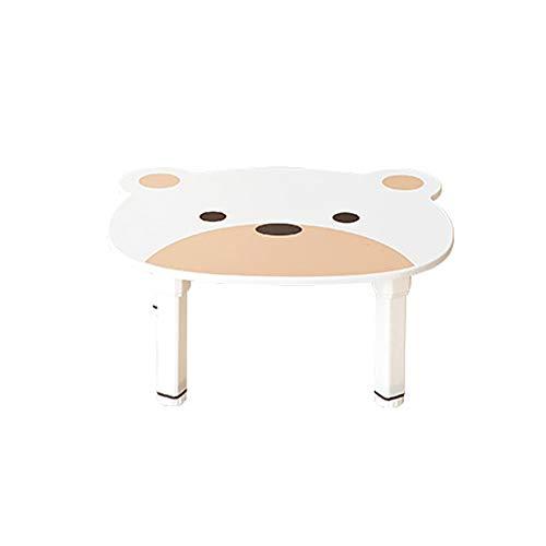 ルームアンドホーム テーブル プチ ベアキッズ ホワイト 47.6×57.5×25.5cm