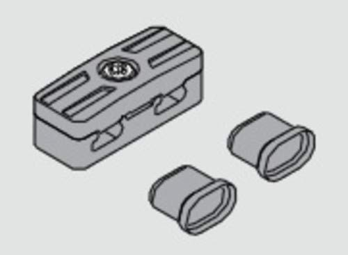 Blum Inc. Z10V100E Tandembox Servo-Drive Cable Connector Set from the Servo-Drive Collection, Black