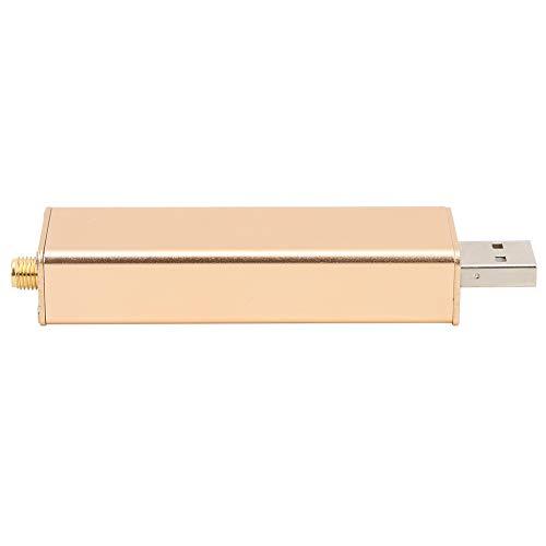 Receptor RTL SDR, Walkie corto de largo alcance 97 x 24 x 14mm aleación de aluminio hecho 0.1MHz-1.7GHz