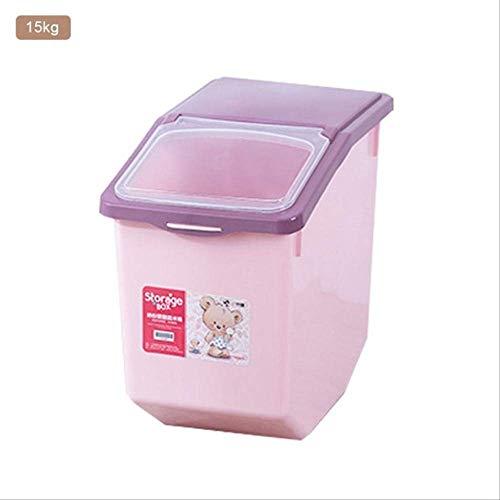 Buy Bargain 5kg/10kg/15kg Pet Cat Dog Savings Box Dog Food Dispenser Container Dog Moisture-Proof Se...