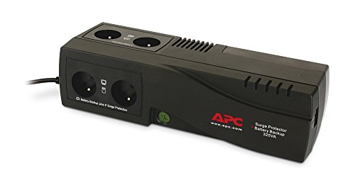 APC SurgeArrest + Battery Backup - Ladegeräte für Batterien (Holzkohle, 230 V, 50 Hz, 325 V, 24 h, Lead-Acid)
