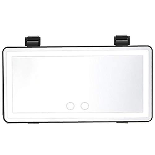 Coche De Maquillaje LED Espejo, Espejo De Maquillaje HD Tangible Para El...