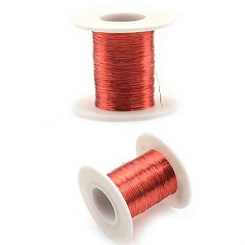 Alambre de cobre esmaltado por cable imán 11mx0.1mm imán de alambre de...