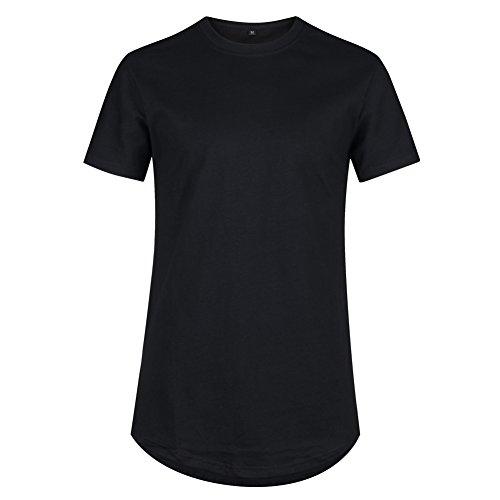 VFIVE UNFOUR Camisetas Extra Largo Linea Larga extendido Hombres