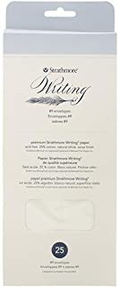 "Strathmore 500 Series Writing Envelopes, 25 Envelopes, Not Applicable, Natural White, 3.875"" by 8.875"""