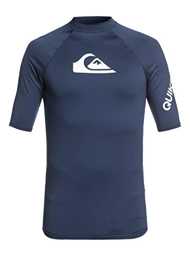 Quiksilver Heren All Time-Short Sleeve Upf 50 Rash Vest S/sl Surf Tee