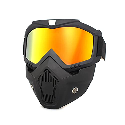 Motorcycle Goggles Riding Goggles Safety Face Shield Anti-UV Motorcycle ATV Racing Goggles Dirt Bike Mx Goggle Glasses