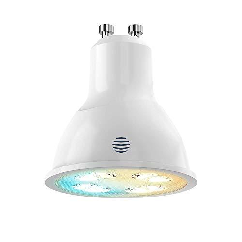 LED regulable Hive GU10, plástico, Blanco, GU10, 4.8W