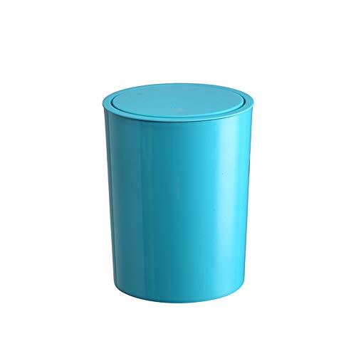 Trash can Poubelle PP en Plastique ménage Bureau Poubelle Poubelle 22,4 * 29 cm