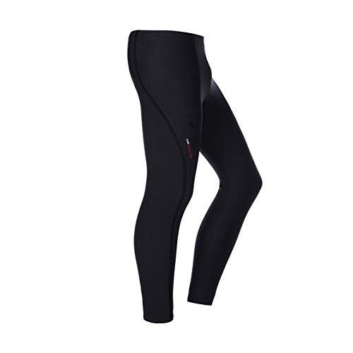 HOUJHUR Hombres Mujeres Espesar 3 mm de Neopreno de Buceo con escafandra Pantalones Snorkel Surf Invierno Caliente Traje de Buceo Pantalones Pantalones Largos (Color : Negro, Size : L)