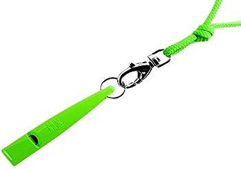 Sifflets pour chiens vert neón de la marque ACME 211,5 avec sangle