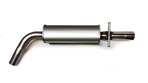 02 jetta exhaust system - 3