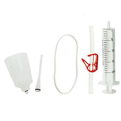 GAOHOU 1 Set Kit de Purga de Freno de Disco hidráulico para el Sistema de Frenos Shimano Kit de Purga de Fluido de Aceite Mineral para Bicicletas
