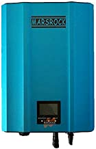 Marsrock IP65 Waterproof 1200W MPPT Micro Grid Tie Inverter Wide Voltage 50-86VDC/ 85-130VDC/120-180VDC to 90-140VAC with LED&LCD Inverter for Solar Power System