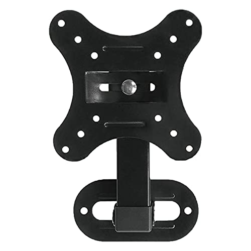 Ashley GAO Soporte ajustable para montaje en pared TV Panel plano Soporte de marco 15 grados Inclinación con pequeña llave para supervisión LED