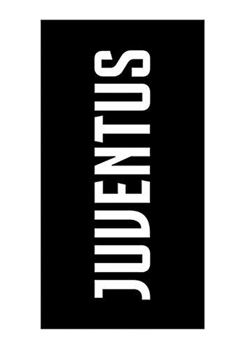 Juventus Telo Mare Juventus Grande Nuovo Logo 90x170 - Prodotto Ufficiale Nuova Collezione