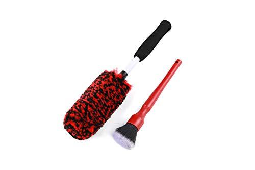 Metal Free Synthetic Wool Wheel Brush...