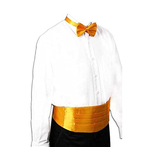 NSXKB Caballero Silida Silida Silv Satin Satin Banda Elástica Tuxedo Cummerbund Modelo de Banquete Comercial Elite (Color : A)