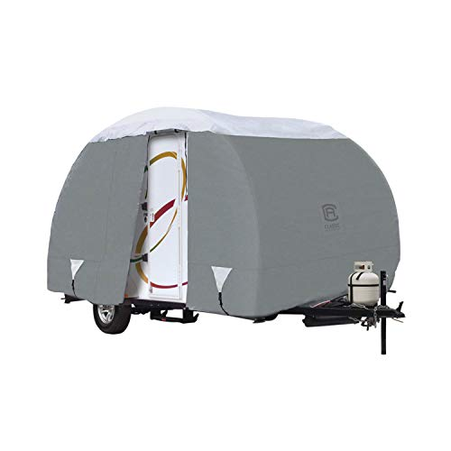 Classic Accessories Over Drive PolyPRO3 Deluxe R-Pod Travel Trailer Cover, Fits up to 17' 7' Long - Trailer Body Only (80-200-161001-00)