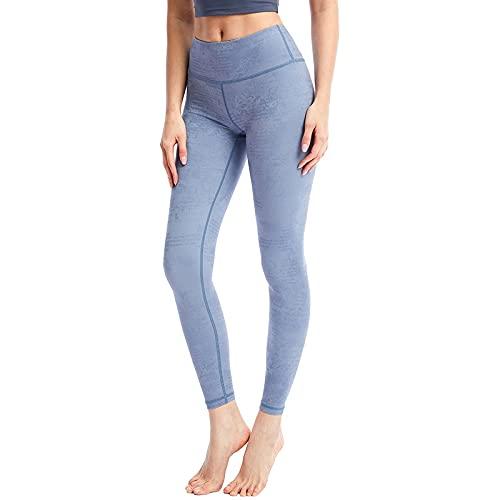 QTJY Pantalones de Yoga Desnudos Pantalones de Fitness de Cadera melocotón para Mujer, Pantalones de Yoga Ajustados elásticos de Cintura Alta, Leggings de Desgaste Exterior D XL