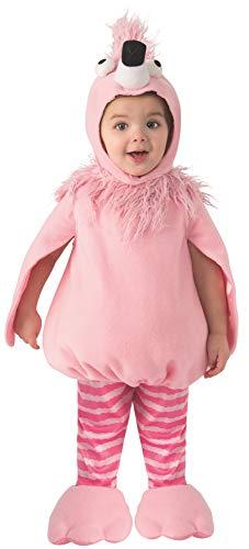 Arca de Noe - Disfraz Flamenquito Rosa infantil, Talla 1-2 aos (Rubie's 700792-T)