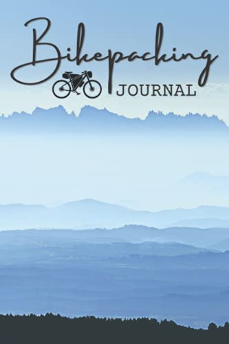 Bikepacking Journal: Lined journal notebook that includes yearly ride logging chart for convenient reference! Matte cover 6 x 9 journal great log book or gift for bike campers