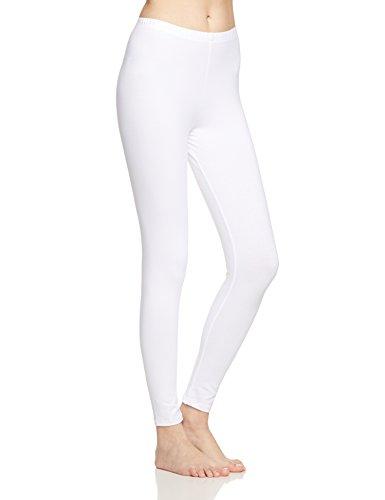 CALIDA Damen Comfort Legging, Weiß (Weiss 001), 50 (Herstellergröße: L = 48/50)