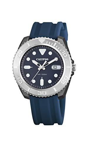 Calypso Reloj Analógico para Hombre de Cuarzo con Correa en Plstico K5794/2