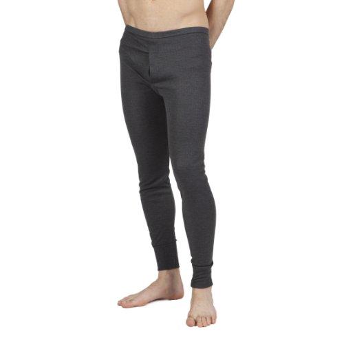 Textiles Universels sous-Pantalon Thermique - Homme (L) (Gris foncé)