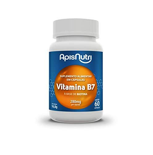 Apisnutri Suplemento de Vitamina B7, 60 Capsulas