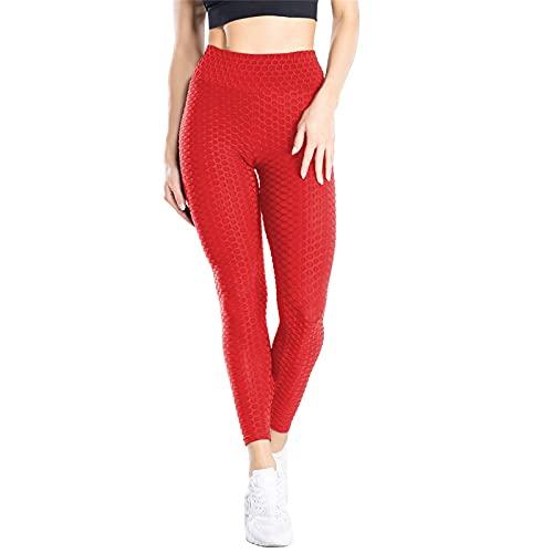 YIFEID Leggings Mujer Levantamiento A Tope Leggings Anti De Celulitis para Mujeres Pantalones De Yoga De Cintura Alta Entrenamiento Entrenamiento Pulta Control Deportivo