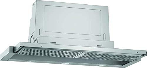 Neff D49ED52X1 Einbau-Dunstabzugshaube/Flachschirmhaube N50 / 90cm / Abluft oder Umluft/Energieeffizienzklasse A/silbermetallic