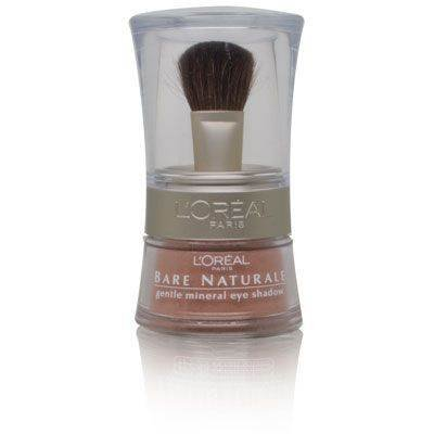 L'Oreal Bare Naturale Gentle Mineral Eye Shadow with Brush - # 406 - Bare Gold
