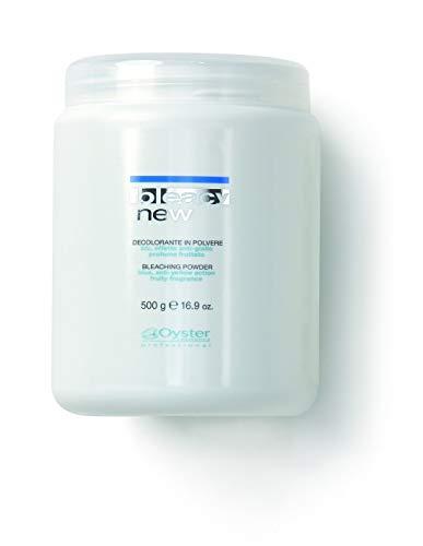 Oyster Professional - Pot Poudre Décolorante Action Anti-Jaune 500G - Volume : 500Ml