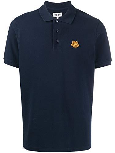 Kenzo Luxury Fashion Herren FA65PO0014PU76 Blau Baumwolle Poloshirt | Herbst Winter 20