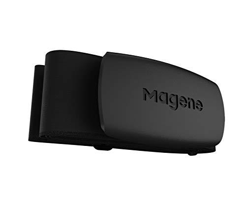 Mover H64 Modo Dual Ant+ y Bluetooth Sensor de Frecuencia Cardíaca con Correa para el Pecho Computadora de Ciclismo Monitor de Deportes en Bicicleta Magene