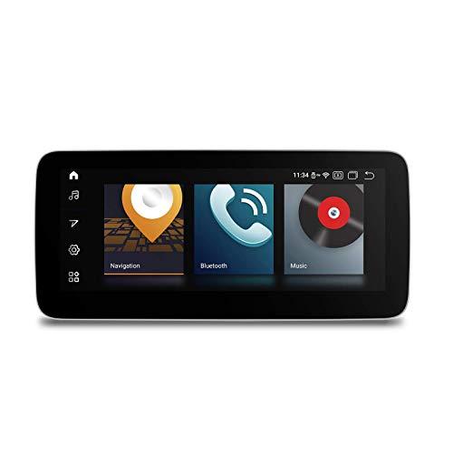 KAUTO Qualcomm Android 10 Car Stereo Octa Core Navegación GPS con 10.25 Pulgadas IPS Pantalla antirreflectante Android Auto USB Dab + WiFi para Mercedes