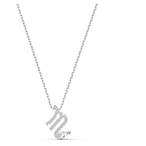 Swarovski Pendente Zodiac II, Scorpione, bianco, mix di placcature