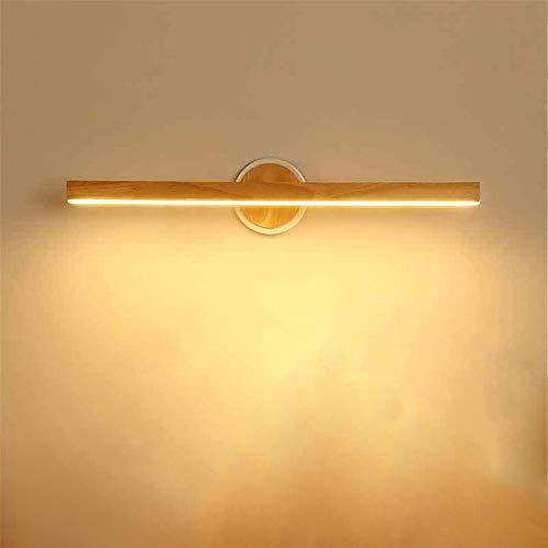 LED wandlamp Nordic eenvoudige moderne creatieve houten kaptafel badkamer wandlamp
