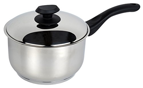 Stainless steel collection Stainless Steel Sauce Pan, 20 cm, Multi-Colour