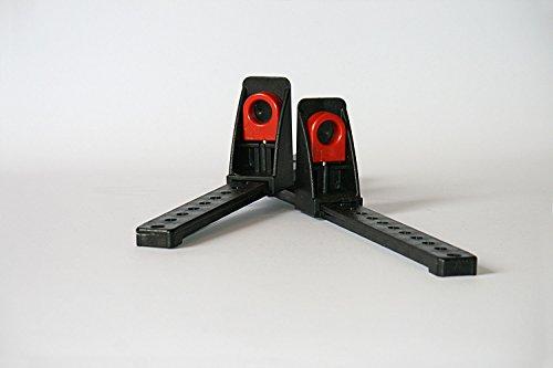 GEAR Reposapiés ajustable para kayak, muy resistente, fácil de cambiar o cambiar, reposapiés...