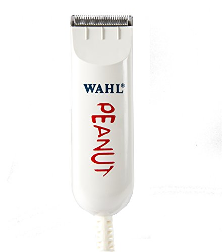 Wahl Professional Peanut Classic Clipper/Trimmer #8685, White – Great for...
