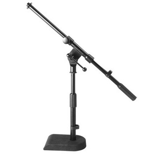 On-Stage Stands MS7920B Bass Drum / Boom Combo Mic Stand, Black,